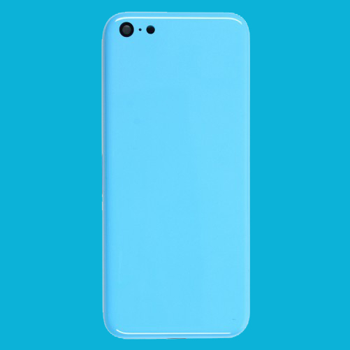 Chassis bleu iphone 5C